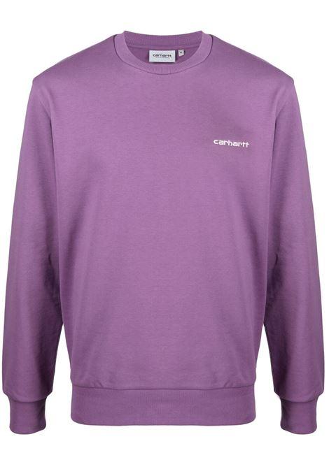 SCRIPT EMBROIDERY SWEATSHIRT CARHARTT WIP | Sweatshirts | I0246780AJ.90