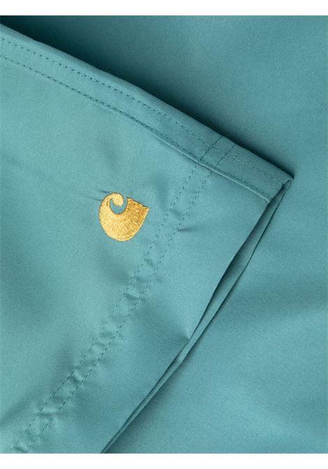 Carhartt costume con logo uomo azzurro CARHARTT | Costumi da bagno | I0262350AC.90