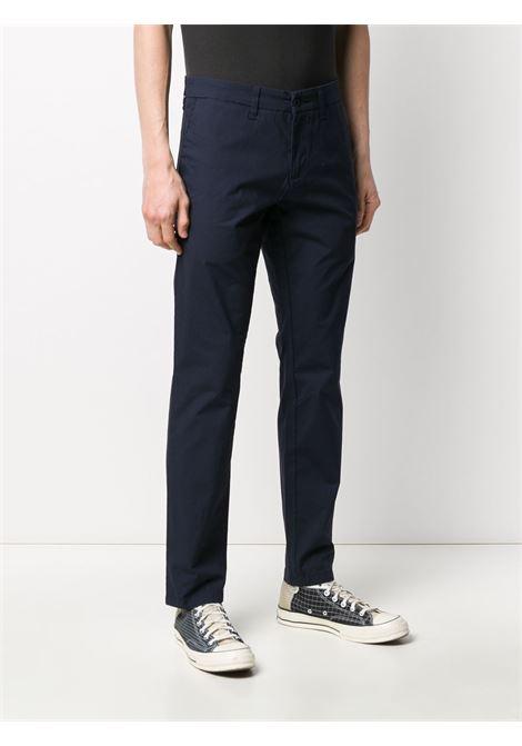 pantaloni sid uomo blu scuro in cotone CARHARTT WIP | Pantaloni | I027955.321C.02