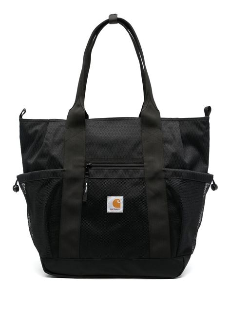 Carhartt logo patch tote bag unisex black CARHARTT | Bags | I02888889.00