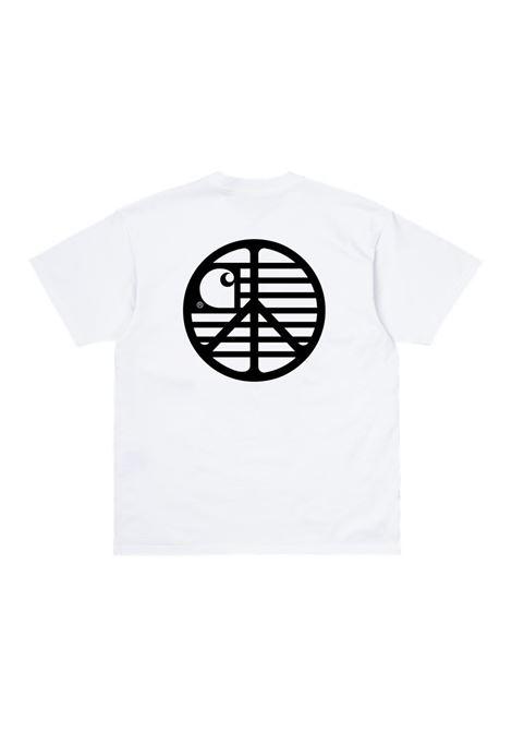 Carhartt t-shirt con logo uomo CARHARTT | T-shirt | I02893102.90