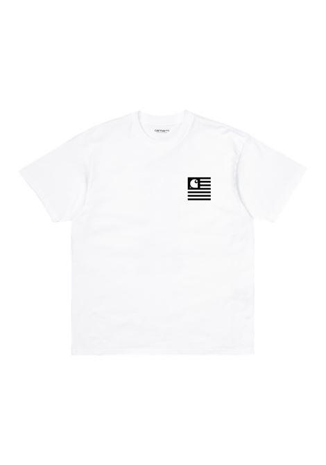 Carhartt t-shirt wavy state uomo CARHARTT | T-shirt | I02901102.90