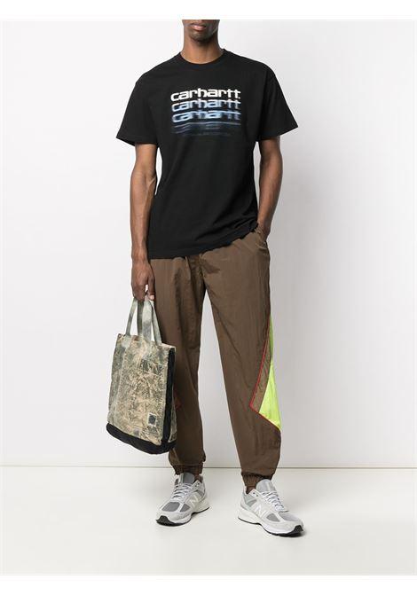 Carhartt t-shirt motion script man black CARHARTT | T-shirt | I02901389.00