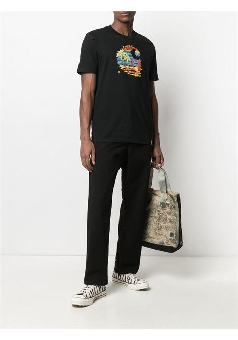 Carhartt t-shirt s/s beach uomo nero CARHARTT WIP | T-shirt | I029020.0389.00