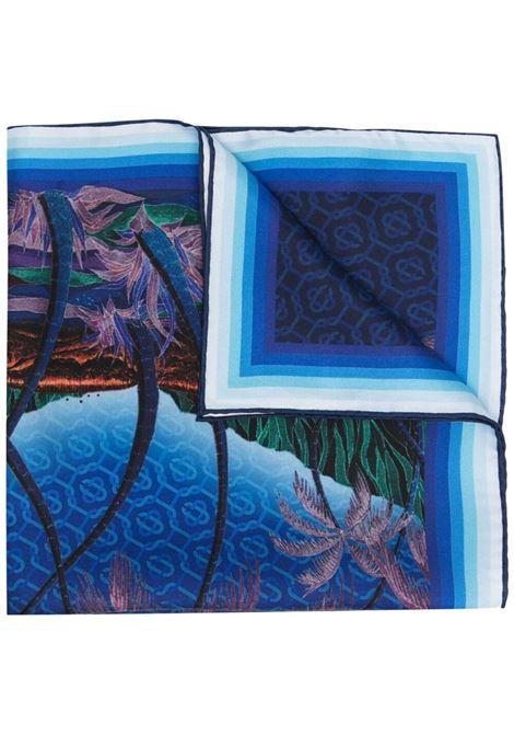 Casablanca print scarf unisex multicolor CASABLANCA | Scarfs | AS21-SCARF-003NUIT