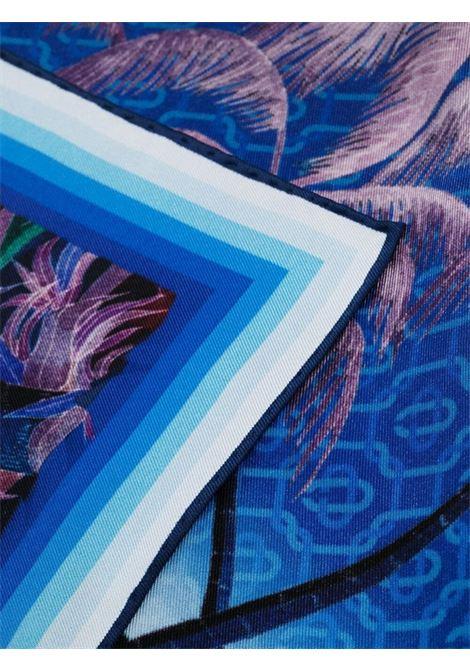 Casablanca sciarpa con stampa unisex multicolor CASABLANCA | Sciarpe | AS21-SCARF-003NUIT