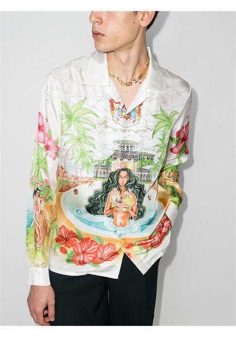 KAMEHAMEA GRAPGHIC PRINT SHIRT CASABLANCA | Shirts | MF21-SH-006KAMEHAMEHA