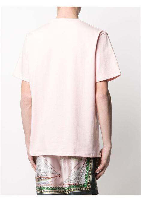 PRINT T-SHIRT CASABLANCA   T-shirts   MS21-TS-001PINK