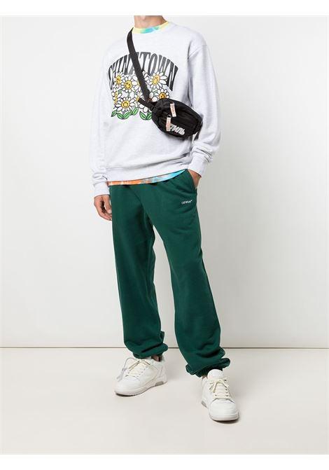 Chinatown Market smiley flower power crewneck man grey CHINATOWN MARKET | Sweatshirts | 1960066ASH GRAY