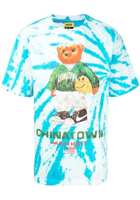 Chinatown Market t-shirt smiley sketch basketball bear uomo CHINATOWN MARKET | T-shirt | 1990446TIE FYE