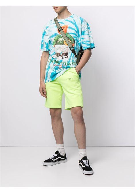 SMILEY SKETCH BASKETBALL BEAR T-SHIRT CHINATOWN MARKET | T-shirts | 1990446TIE FYE