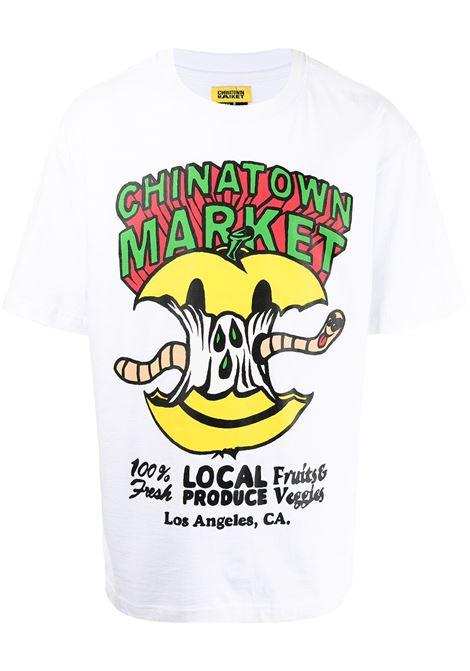 Chinatown Market print t-shirt man white CHINATOWN MARKET | T-shirts | 1990448WHITE