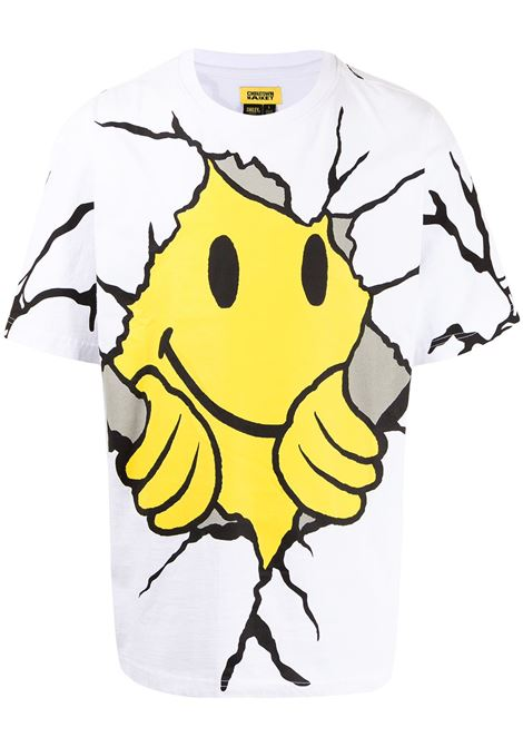 Chinatown Market t-shirt smiley dry wall beaker uomo CHINATOWN MARKET | T-shirt | 1990449WHITE