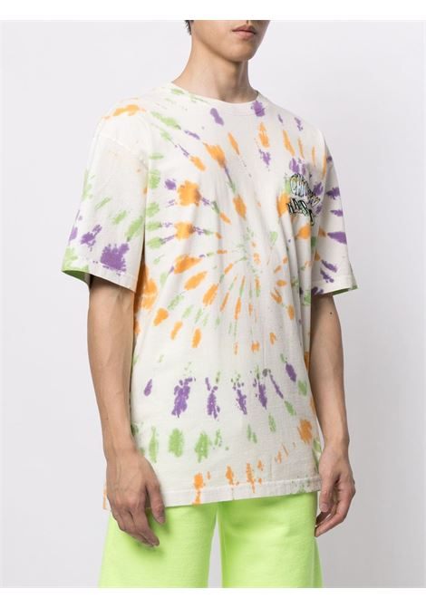 Chinatown Market t-shirt tie dye a blocchi uomo CHINATOWN MARKET | T-shirt | 1990458SPIRAL TIE DYE