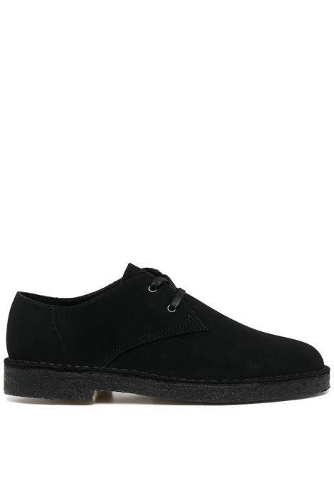 Clarks Originals lace up suede shoes man black CLARKS | Laced Shoes | 156808BLACK SUEDE
