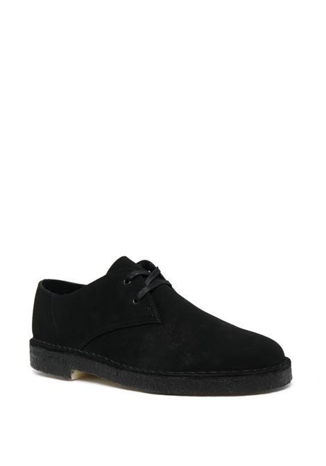 Clarks Originals lace up suede shoes man black CLARKS | Laced Shoes | 156808BLACK SUEDE