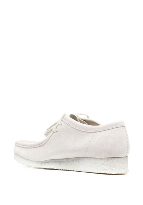 Clarks Originals wallabee man white CLARKS | Laced Shoes | 158421WHITE