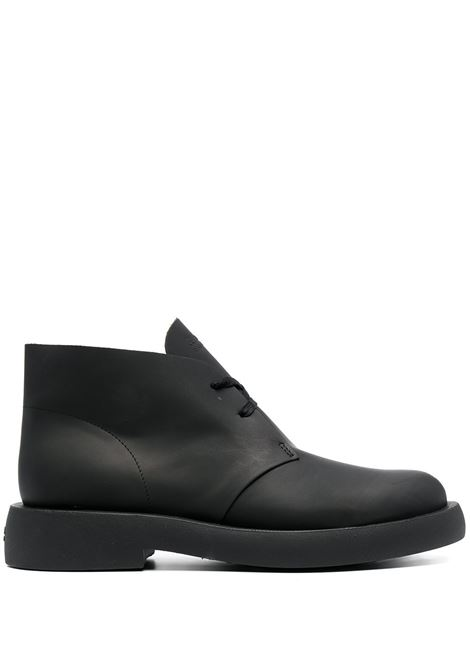 LACE-UP DESERT BOOTS CLARKS | Boots | 26160860BLACK LEATHER