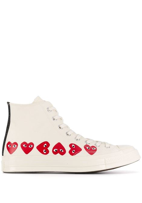 Comme Des Garçons Play sneakers play uomo COMME DES GARÇONS PLAY X CONVERSE | Sneakers | P1K1162