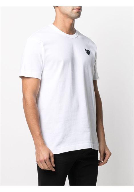 Comme Des Garçons Play t-shirt uomo bianco COMME DES GARÇONS PLAY | T-shirt | P1T064B