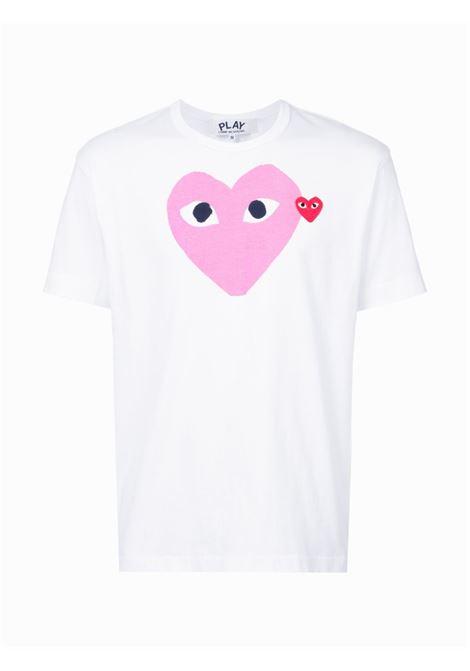 Comme Des Garçons Play t-shirt play uomo COMME DES GARÇONS PLAY   T-shirt   P1T1064