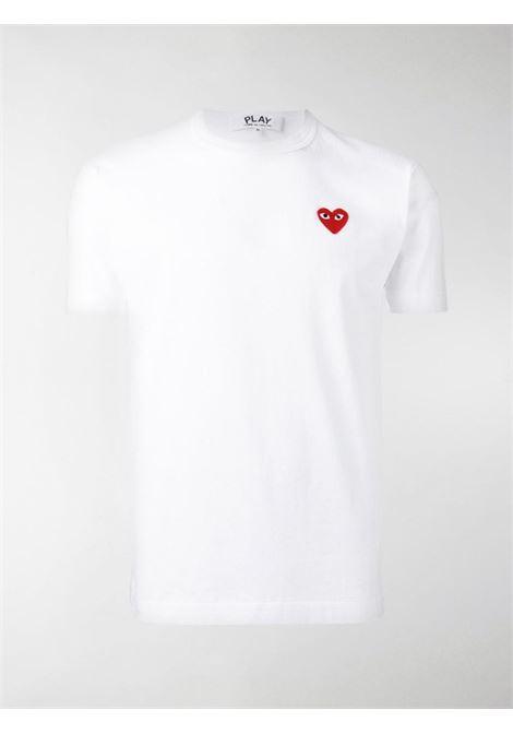 PLAY T-SHIRT COMME DES GARÇONS PLAY | T-shirts | P1T1082