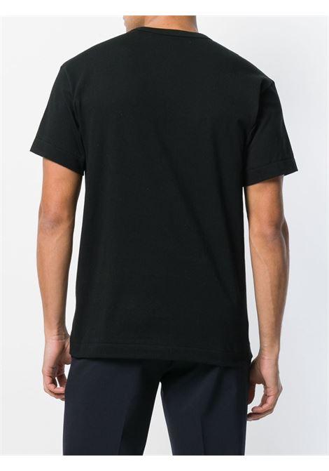 Comme Des Garçons Play t-shirt uomo nero COMME DES GARÇONS PLAY | T-shirt | P1T1141