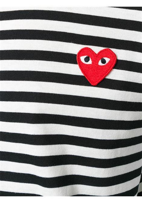 Comme Des Garçons Play t-shirt uomo COMME DES GARÇONS PLAY | T-shirt | P1T1641