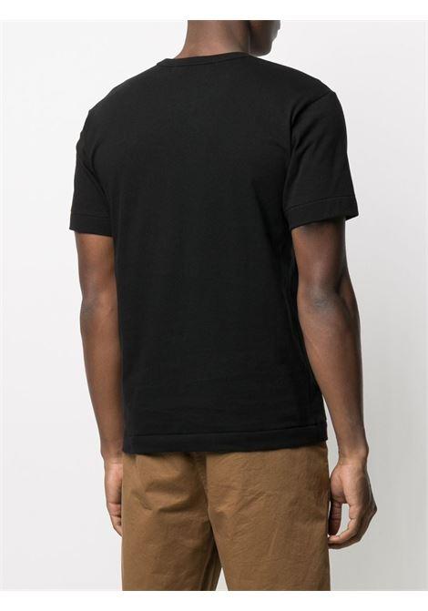 Comme Des Garçons Play t-shirt man black COMME DES GARÇONS PLAY | T-shirts | P1T2881