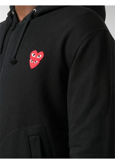 Comme Des Garçons Play sweatshirt man black COMME DES GARÇONS PLAY | Sweatshirts | P1T2941