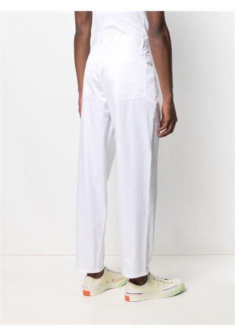Comme Des Garçons Shirt pantaloni a gamba dritta uomo bianco COMME DES GARÇONS SHIRT | Pantaloni | FG-P015WHITE