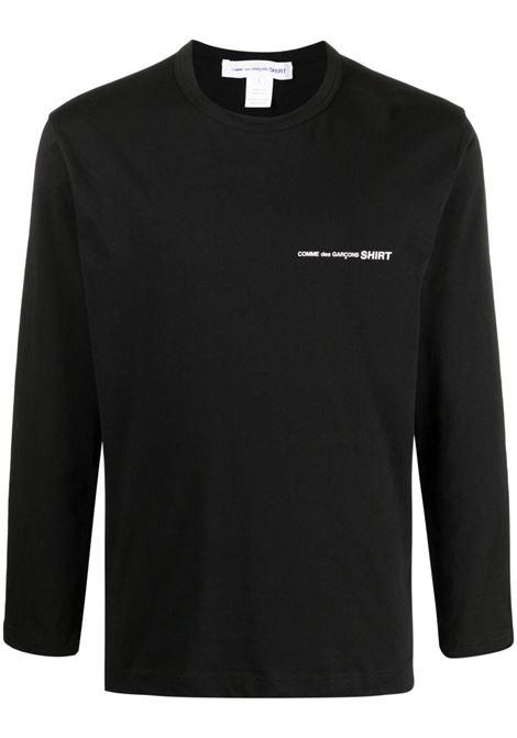 COMME DES GARÇONS SHIRT | T-shirts | FG-T017BLACK