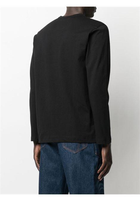 Comme Des Garçons Shirt t-shirt con logo stampato uomo COMME DES GARÇONS SHIRT | T-shirt | FG-T017BLACK