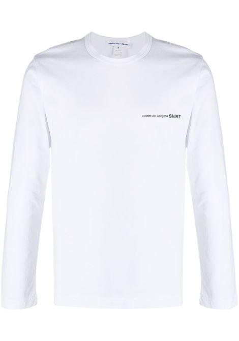 COMME DES GARÇONS SHIRT | T-shirts | FG-T017WHITE