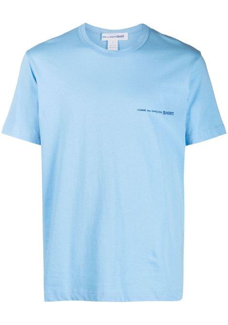 COMME DES GARÇONS SHIRT | T-shirts | FG-T020BLUE