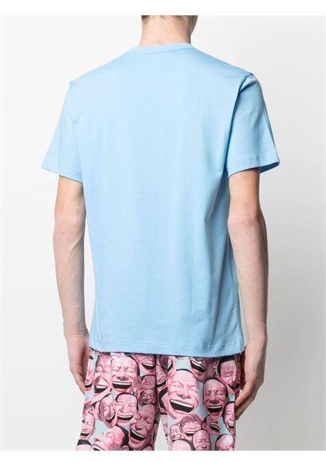 Comme Des Garçons Shirt t-shirt con logo stampato uomo COMME DES GARÇONS SHIRT | T-shirt | FG-T020BLUE
