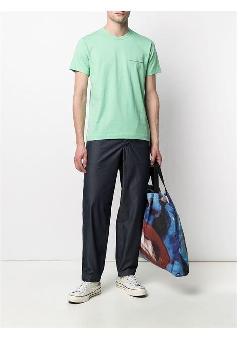 Comme Des Garçons Shirt t-shirt con logo stampato uomo COMME DES GARÇONS SHIRT | T-shirt | FG-T020GREEN