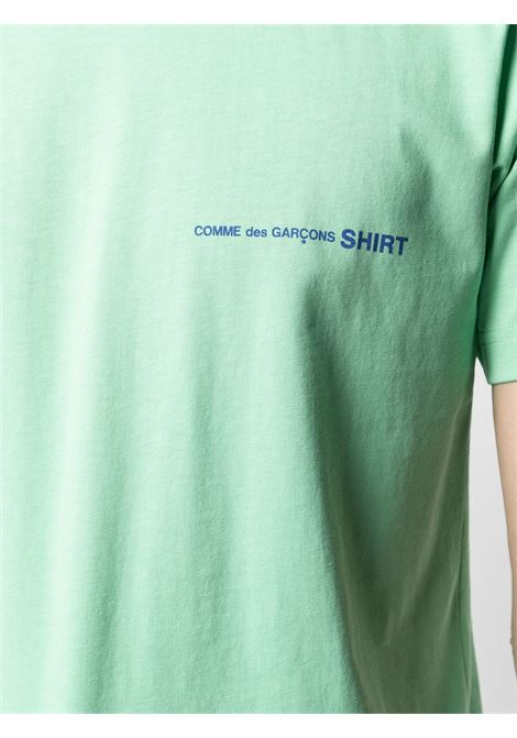 COMME DES GARÇONS SHIRT | T-shirts | FG-T020GREEN