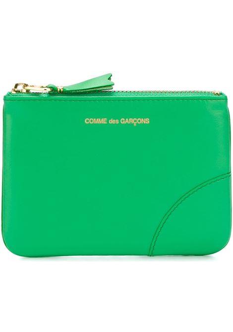 Comme Des Garçons Wallet portafoglio con zip uomo COMME DES GARÇONS WALLET | Portafogli | SA8100GREE