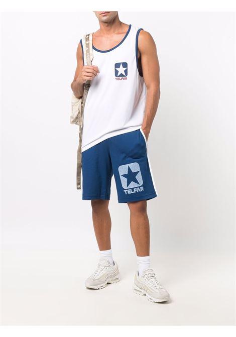 tank top with logo man white CONVERSE X TELFAR | T-shirts | 10022843-A01WHT