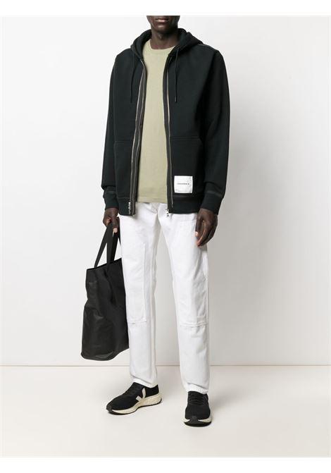 Converse X Slam Jam utility fleece hoodie man black CONVERSE X SLAM JAM | Sweatshirts | 10022282-A01PBK