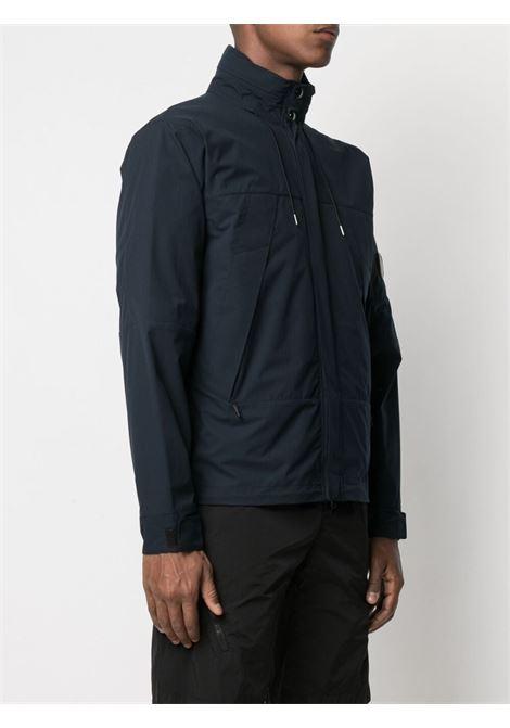 C.P. Company patch logo jacket man blue C.P. COMPANY | Jackets | 10CMOW017A004117A888