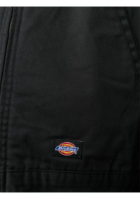 Giacca Di Cotone Con Zip Uomo nero DICKIES | Giacche | DK00TJ15BLK