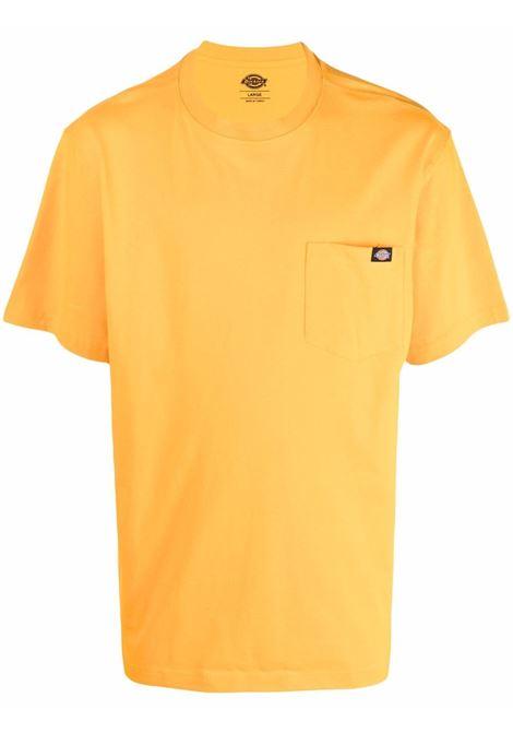 pocket t-shirt man orange in cotton DICKIES | T-shirts | DK0A4TMOB591