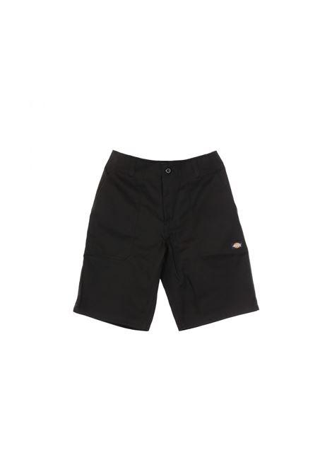logo shorts man black in cotton DICKIES | Shorts | DK0A4XB4BLK1