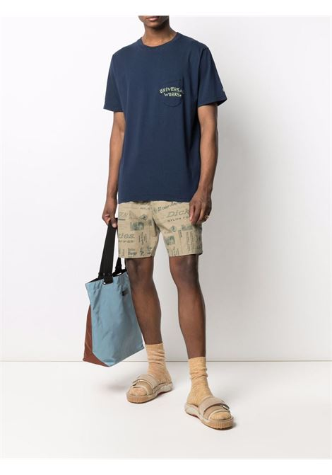 Printed shorts beige man cotton DICKIES | Shorts | DK0A4XCGKHK1