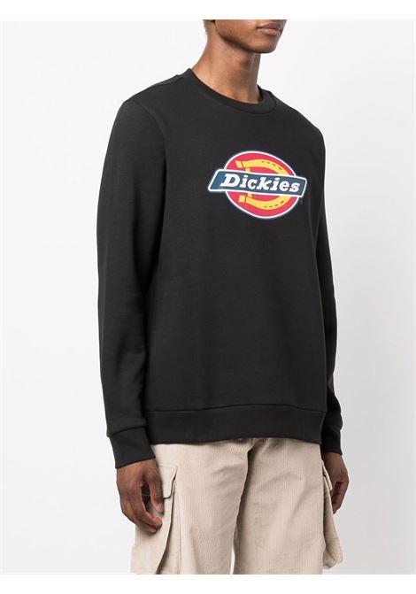 felpa con logo uomo nera in cotone DICKIES | Felpe | DK0A4XCIBLK