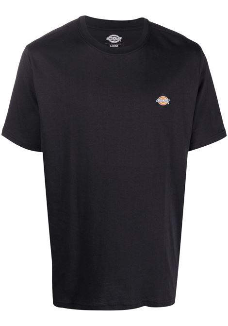 Logo t-shirt Black in Cotton Man DICKIES | T-shirts | DK0A4XDBBLK1