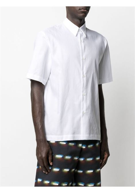 Dries Van Noten camicia semplice uomo bianco DRIES VAN NOTEN | Camicie | CLASEN2051WHITE