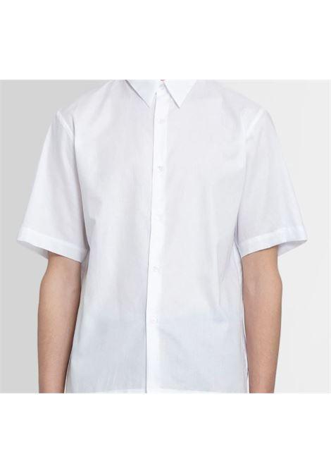 Camicia Semplice Uomo Bianca Cotone DRIES VAN NOTEN   Camicie   CLASEN2051WHITE
